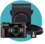 Canon PowerShot G7X Mark II Premium Kit schwarz Kamera inkl. Tas
