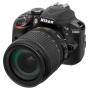Nikon D3400+AF-S 3,5-5,6/18-105 mm VR schwarz Kit
