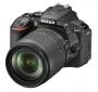 Nikon D5600+AF-S DX 3,5-5,6/18-105 mm G ED VR schwarz Kit