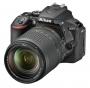 Nikon D5600+AF-S DX 3,5-5,6/18-140 mm G ED VR schwarz Kit